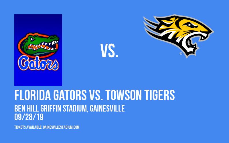 PARKING: Florida Gators vs. Towson Tigers at Ben Hill Griffin Stadium