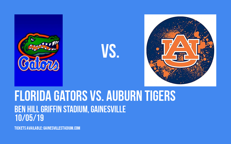 Florida Gators vs. Auburn Tigers at Ben Hill Griffin Stadium