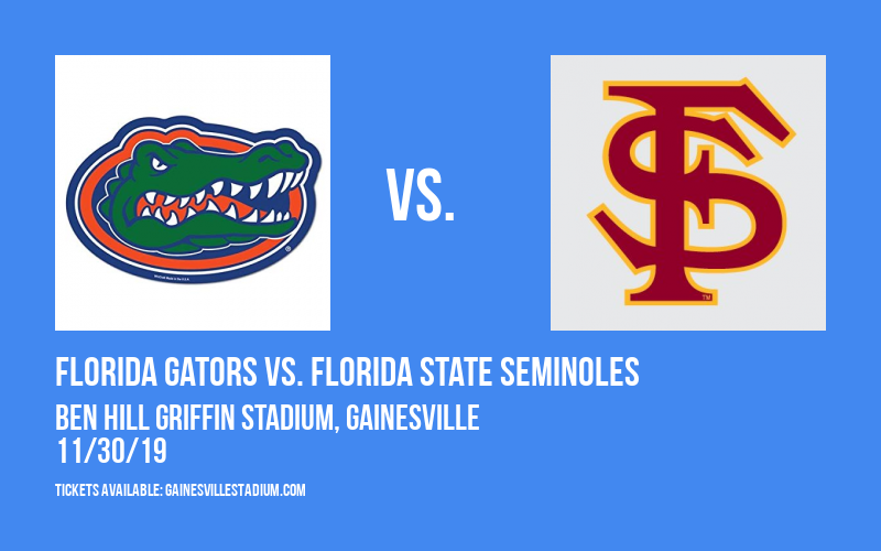 PARKING: Florida Gators vs. Florida State Seminoles at Ben Hill Griffin Stadium
