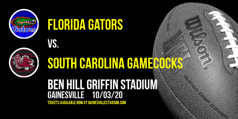 Florida Gators vs. South Carolina Gamecocks at Ben Hill Griffin Stadium