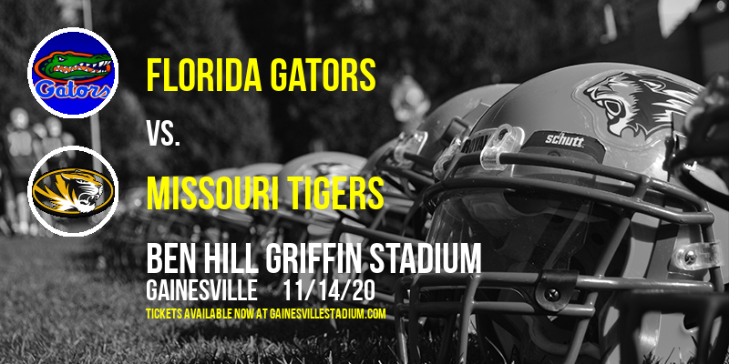 Florida Gators vs. Missouri Tigers at Ben Hill Griffin Stadium