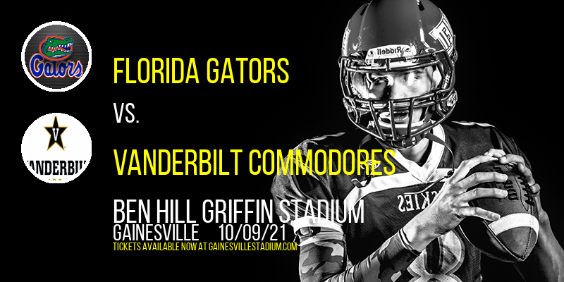 Florida Gators vs. Vanderbilt Commodores at Ben Hill Griffin Stadium