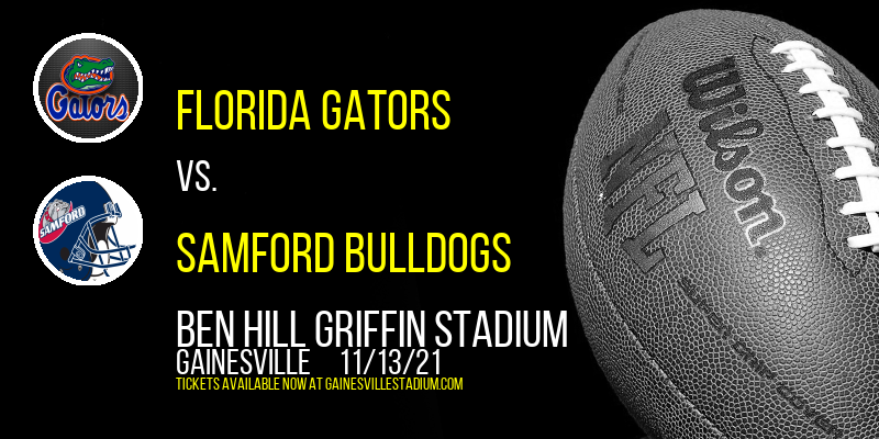 Florida Gators vs. Samford Bulldogs at Ben Hill Griffin Stadium