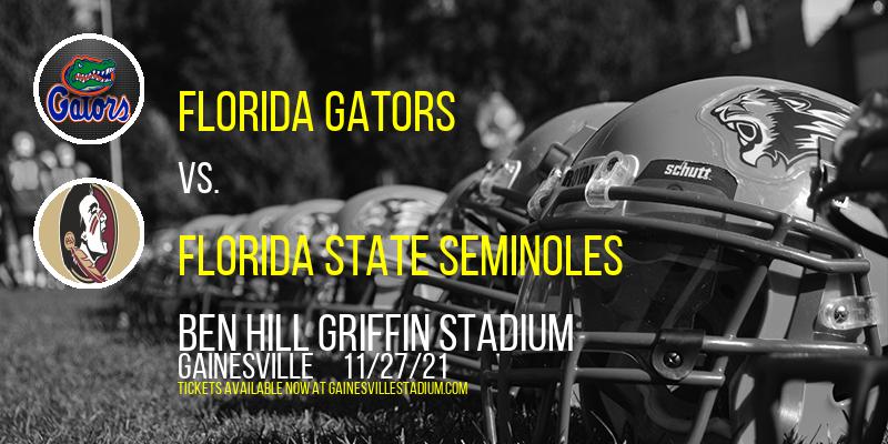 Florida Gators vs. Florida State Seminoles at Ben Hill Griffin Stadium