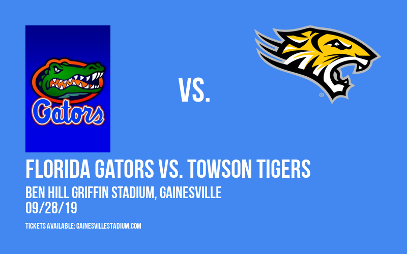 Florida Gators vs. Towson Tigers at Ben Hill Griffin Stadium