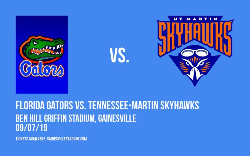 Florida Gators vs. Tennessee-Martin Skyhawks at Ben Hill Griffin Stadium