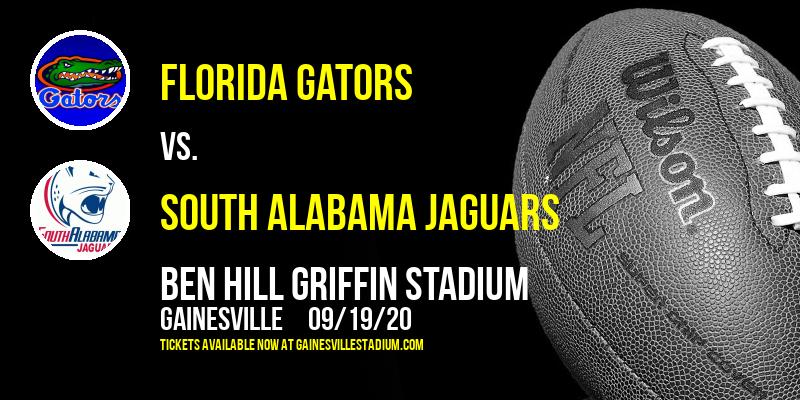 Florida Gators vs. South Alabama Jaguars at Ben Hill Griffin Stadium