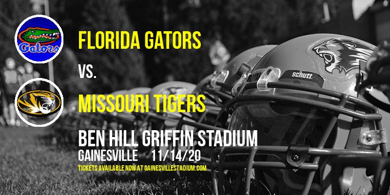 Florida Gators vs. Missouri Tigers at Ben Hill Griffin Stadium