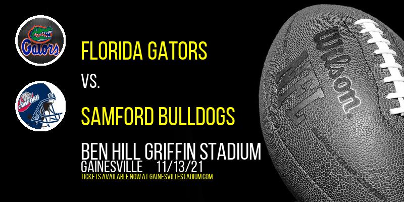 Florida Gators vs. Samford Bulldogs at Ben Hill Griffin Stadium