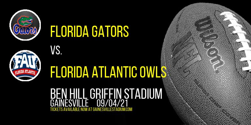 Florida Gators vs. Florida Atlantic Owls at Ben Hill Griffin Stadium